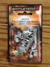 BattleTech Miniatures: D. A. Carronade Mech  20-5110 Click for more savings!