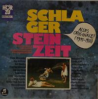 """SCHLAGER STEINZEIT 1945-1960     12""""  LP (S921)"""