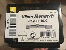 Nikon Monarch 2-8x32 Devgru Trijicon Aimpoint UKSF Scope