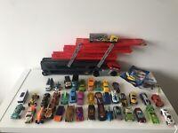 Hotwheels Mega Hauler Truck Transporter And 42 Cars Bundle Joblot Toy Cars