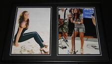 Jessie James Signed Framed 12x18 Photo Set