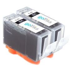2 Cartouche d'encre Noire (PGI) pour Canon Pixma iP3500 iP5300 MP530 MP810 MX700