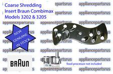 Braun Coarse Shredding Insert Part 7000492 67000492 BR67000492 Models 3202 3205