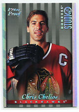 1997-98 Studio Press Proofs Silver 30 Chris Chelios /1000