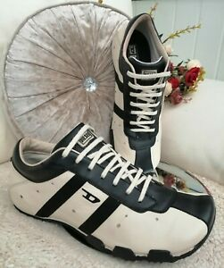 Vintage RARE men's DIESEL Sneakers UK8, 90s originals trainers, collector shoes