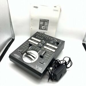 Roland EDIROL Video Mixer V-8 Used Tested Good