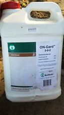 2 and 1/2 gallon jug of onguard 5-0-2 fertilizer