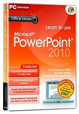 Learn to Use Power Point 2010 (PC-DVD) BRAND NEW SEALED