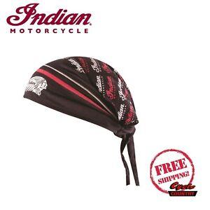 Indian Motorcycle Brand Headdress Head Tie Red andBlack