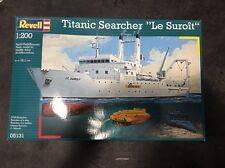 "Revell Plastic Model Kit 05131 1/200 Titanic Searcher ""Le Suroit""  *New in Box*"
