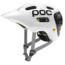 POC Trabec Race MIPS MTB Helmet Gloss White Black Medium - Large (55-58)