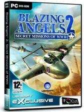Blazing Angels 2: Secret misiones de la segunda guerra mundial (Pc Dvd) Nuevo Sellado