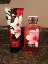 Lot Bath & Body Works Japanese Cherry Blossom Body Cream & Shower Gel Full Size