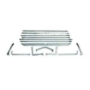 65 - 68 Mustang Fastback Fold Down Seat Molding - Set of 14 PCS