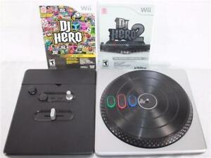 Wii DJ Hero Turntable Stand DJ Hero Mxs DJ Hero Start The Party JayZ Eminen Mxs