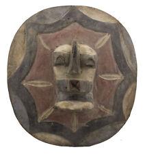 Bouclier Songye Kifwebe RDC Ex Zaïre 34 cm Art Tribal africain 16615