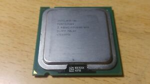 Procesador Intel Pentium 4 3,40Ghz 1MB Socket 775 SL7PY