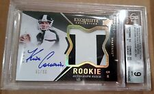 KIRK COUSINS ON CARD AUTO LOGO PATCH RC RPA BGS MINT 2012 UD Exquisite Gold #/50