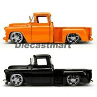 JADA JUST TRUCKS 1:24 1955 CHEVY STEPSIDE PICK UP TRUCK DIECAST BRAND NEW IN BOX