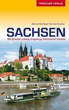 Reiseführer Sachsen von Bernd Wurlitzer und Kerstin Sucher (2015, Kunststoffeinband)