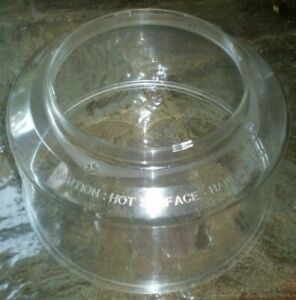 Nuwave Pro Infrared Oven Clear Plastic Replacement Dome 20301 20302 20303 20355