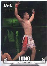 2013 TOPPS UFC KNOCK OUT GREEN PARALLEL SP #/88 KOREAN ZOMBIE CHAN SUNG JUNG #35