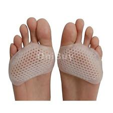 Gel Ball of Foot Insoles Forefoot Pads Breathable Cushions Pain Relief Pads