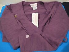 American Girl Isabelle's Purple Wrap Sweater for Girls ~ Size 14 ~ New