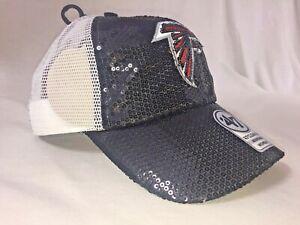 Atlanta Falcons '47 Clean Up Women's Snap-Back Sequin Cap