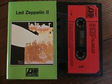 LED ZEPPELIN - LED ZEPPELIN II - - Rare U.K Cassette K440037  Paper Labels