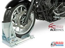 ACEBIKES Steadystand Multi Motocicleta Moto Calzo de rueda, Soporte de transporte estancia