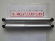 LAMBRETTA S2 S3 or GP SILVER THIN TYPE FRONT DAMPERS - PAIR - NEW GAS TYPE