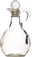 Kitchen Craft Clear Glass Traditional Oil / Vinegar Jug Pourer Drizzler