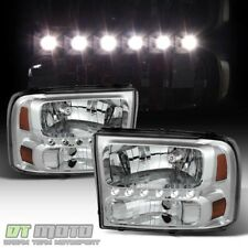 1999-2004 Ford F250 F350 F450 F550 Superduty Excursion LED Headlights Headlamps
