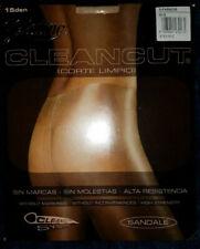 Platino Cleancut 15 Pantyhose Sz 3 G-III Paradis Silky Sheer Nylon Shiny Glossy