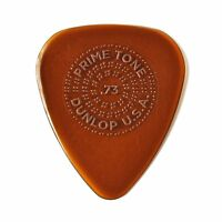 Dunlop 510P73 Primetone Standard Guitar Picks with Grip, 0.73mm (3-Pack)