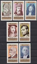 Yemen 1969 ** mi.1024/30 personalidades personalidades de gaulle Jeanne d 'Arc