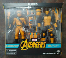 "AIM A.I.M. SCIENTIST & TROOPER Hasbro Marvel Legends 6"" Action Figure sealed MIB"