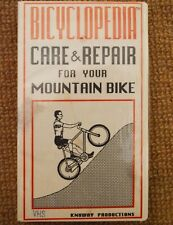 Vhs Tape Bicyclopedia Care & Repair for Your Mountain Bike Vintage Knuway 1987