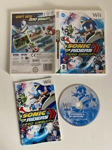 Sonic Riders Zero Gravity - Nintendo Wii - Complete - VGC - Free P&P