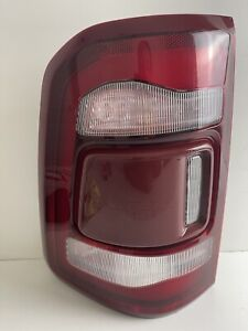 2019 2020 2021 RAM 1500 Left OEM LED Tail Light Chrome W/Blind Spot 68262531AF