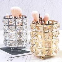 Crystal Make-up Case Brush Holders Pen Pencil Holder Storage Organizer Container