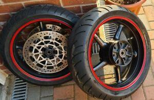 Triumph Daytona 675 Street Triple R Wheels, Tyres + Brake Discs 2006 - 2012
