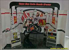 1:12 Pit Box Garage Diorama Marco Simoncelli no minichamps EXTREMALY RARE!!!