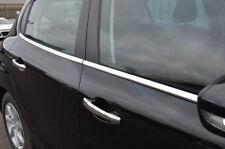 Chrome portes latérales fenêtre Sill trim Set couvre pour s'adapter PEUGEOT 208 (2012+)