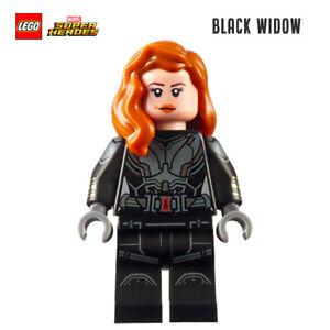 LEGO Minifigure Marvel Super heroes - Black Widow