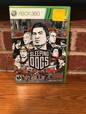 Sleeping Dogs (Microsoft Xbox 360, 2012) Complete Tested