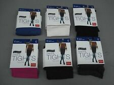 NWT Women's 6 No Nonsense Silky Opaque Sheer To Waist Tights Large Multi #753D