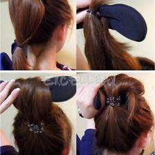 1 pcs Magic Sponge Clip Foam Donut Hair Styling Bun Curler Tool Maker Ring Twist