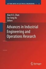 NEW - Advances in Industrial Engineering and Operations Research